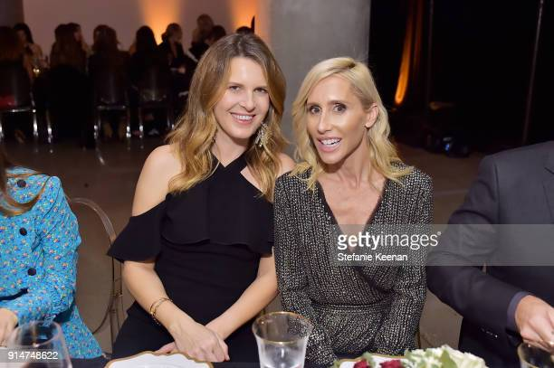 Candice Nelson and Alexandra Von Furstenberg attend Rachel Zoe Fall 2018 LA Presentation on February 5 2018 at The Jeremy Hotel in West Hollywood...