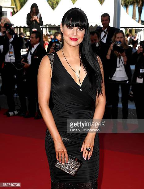 Candice Pascal attends the 'Graduation ' Premiere during the 69th annual Cannes Film Festival at the Palais des Festivals on May 19 2016 in Cannes...