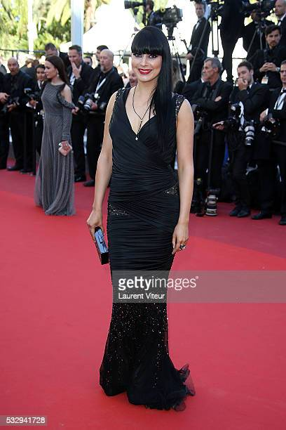 Candice Pascal attends the 'Graduation ' Premiere during the 69th annual Cannes Film Festival at the Palais des Festivals on May 19 2016 in Cannes