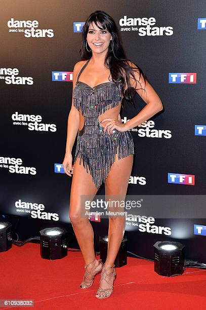 Candice Pascal poses during the 'Danses With The Stars' photocall on September 28 2016 in Paris France