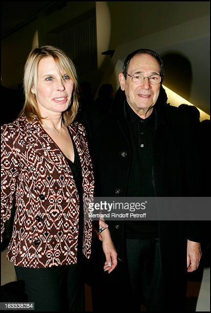 Candice Patou and Robert Hossein at the Roberto Alagna Concert At The Palais Des Congres In Paris