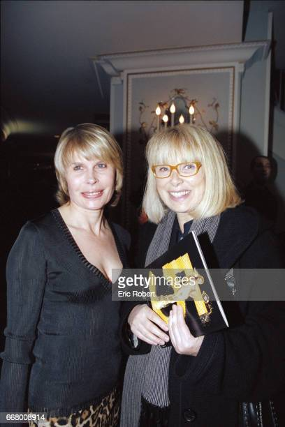 Candice Patou and the French actress, Mireille Darc.