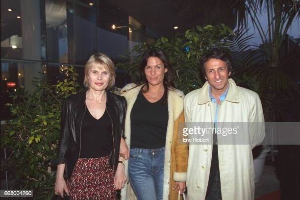Candice Patou Astrid Veillon and Richard Anconina all attended the concert