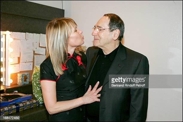 Candice Patou at Robert Hossein 77th Birthday Celebration At Palais Des Congres In Paris