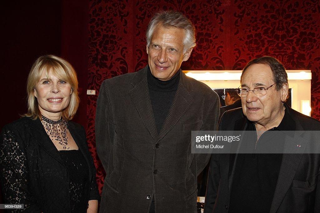 """""""Seznec"""" Premiere At Theatre de Paris"""