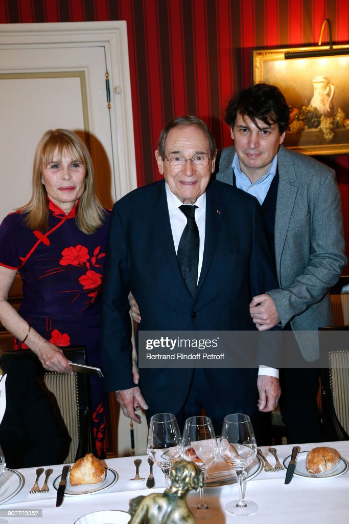 Robert Hossein Celebrates His 90th Anniversary In Paris