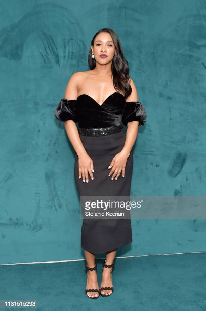 Candice Patton attends 12th Annual Women in Film Oscar Nominees Party Presented by Max Mara with additional support from Chloe Wine Collection Stella...