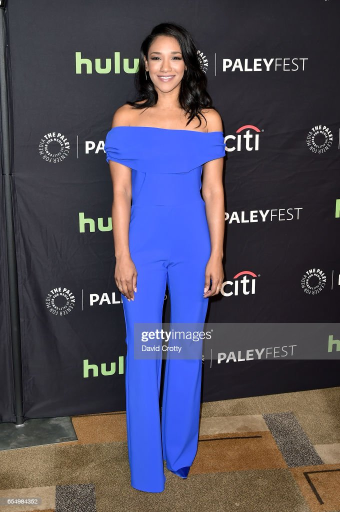 Candice Patton attends PaleyFest Los Angeles 2017 - CW's 'Heroes & Aliens: Featuring Arrow, The Flash, Supergirl, and DC's Legends of Tomorrow' at Dolby Theatre on March 18, 2017 in Hollywood, California.