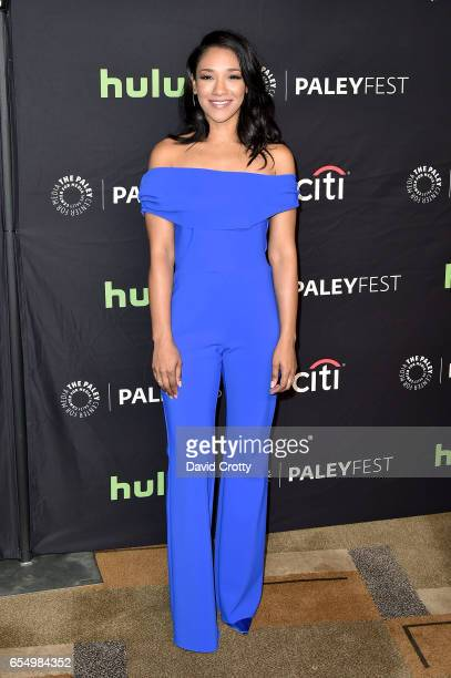 Candice Patton attends PaleyFest Los Angeles 2017 CW's Heroes Aliens Featuring Arrow The Flash Supergirl and DC's Legends of Tomorrow at Dolby...
