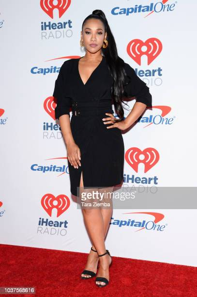 Candice Patton attends the 2018 iHeartRadio Music Festival at TMobile Arena on September 21 2018 in Las Vegas Nevada