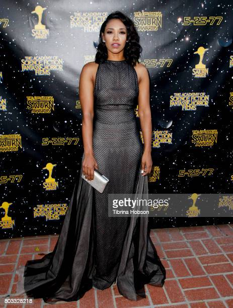 Candice Patton attends the 43rd Annual Saturn Awards at The Castaway on June 28 2017 in Burbank California