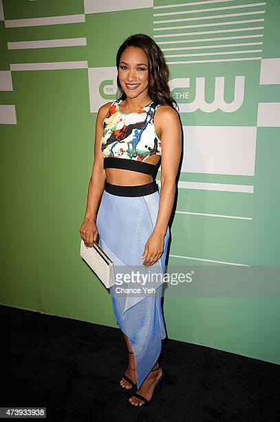 Candice Patton attends The CW Network's New York 2015 Upfront Presentation at The London Hotel on May 14 2015 in New York City