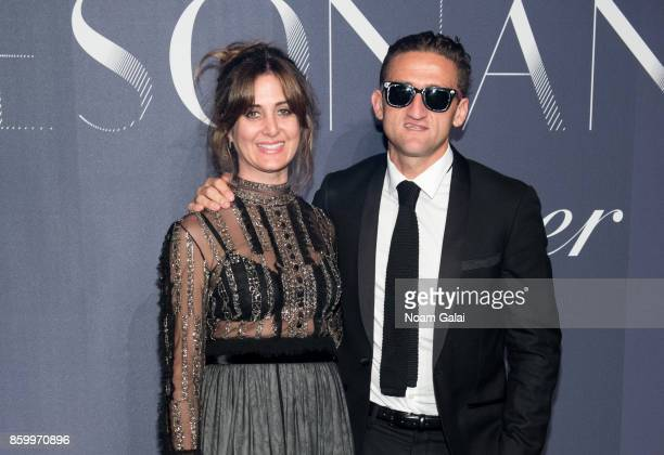 Candice Pool and Casey Neistat attend Cartier's celebration of Resonances de Cartier on October 10 2017 in New York City