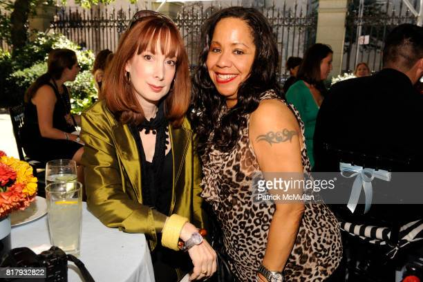 Candice Sabatini and Courtney Hanley Anderson attend Cynthia Rowley Summer/Spring 2011 Reception With Johnson Johnson at Cooper Hewitt Museum on...
