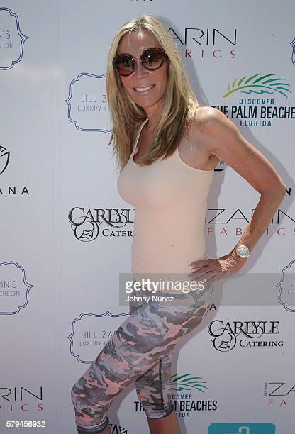 Candice Stark attends Jill Zarin's 4th Annual Luxury Luncheon at Private Home on July 23 2016 in East Hampton City