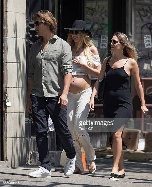Candice Swanepoel and Hermann Nicoli seen on May 20, 2016 in New York City.
