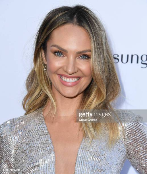 Candice Swanepoel arrives at The Daily Front Row's 5th Annual Fashion Los Angeles Awards at Beverly Hills Hotel on March 17, 2019 in Beverly Hills,...