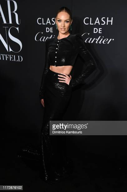 "Candice Swanepoel attends as Harper's BAZAAR celebrates ""ICONS By Carine Roitfeld"" at The Plaza Hotel presented by Cartier - Arrivals on September..."