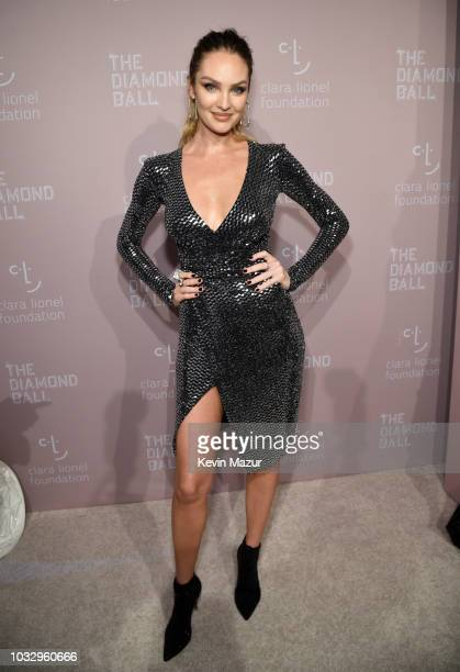Candice Swanepoel attends Rihanna's 4th Annual Diamond Ball benefitting The Clara Lionel Foundation at Cipriani Wall Street on September 13 2018 in...