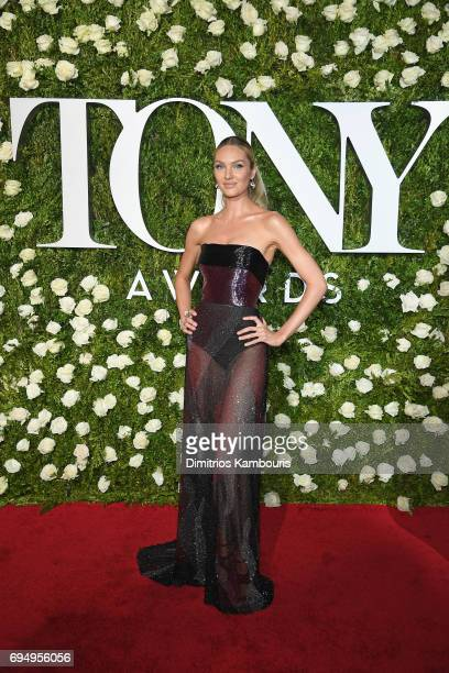 Candice Swanepoel attends the 2017 Tony Awards at Radio City Music Hall on June 11 2017 in New York City