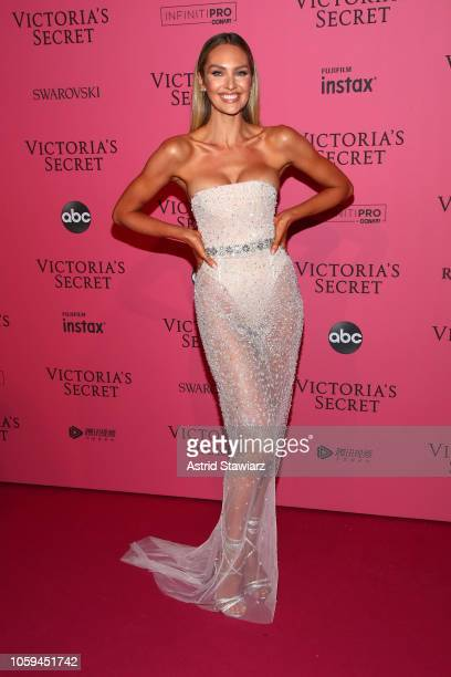 Candice Swanepoel attends the 2018 Victoria's Secret Fashion Show After Party on November 8 2018 in New York City