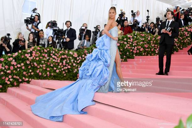 Candice Swanepoel attends The 2019 Met Gala Celebrating Camp: Notes on Fashion at Metropolitan Museum of Art on May 06, 2019 in New York City.
