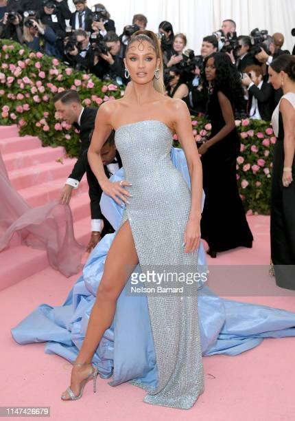 Candice Swanepoel attends The 2019 Met Gala Celebrating Camp Notes on Fashion at Metropolitan Museum of Art on May 06 2019 in New York City