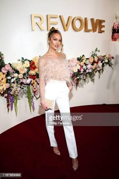 Candice Swanepoel attends the 3rd annual #REVOLVEawards at Goya Studios on November 15 2019 in Hollywood California