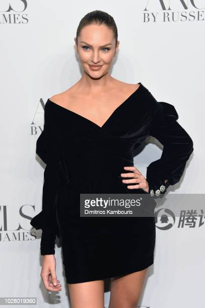 46160c8b065d5 Candice Swanepoel attends the  ANGELS  by Russell James book launch and exhibit  hosted by