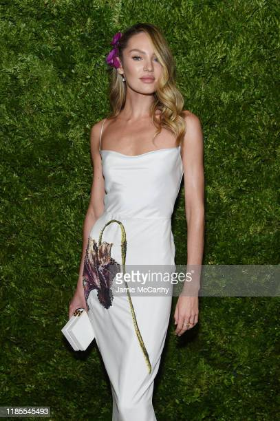 Candice Swanepoel attends the CFDA / Vogue Fashion Fund 2019 Awards at Cipriani South Street on November 04 2019 in New York City