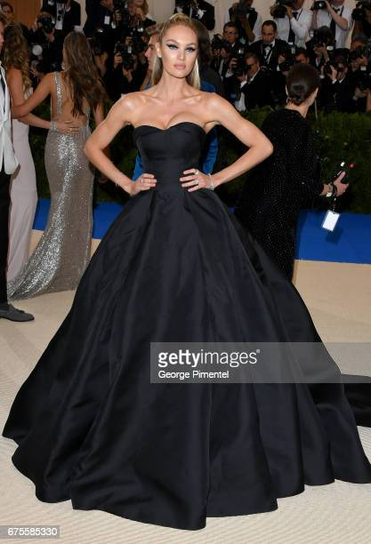 Candice Swanepoel attends the Rei Kawakubo/Comme des Garcons Art Of The InBetween Costume Institute Gala at Metropolitan Museum of Art on May 1 2017...