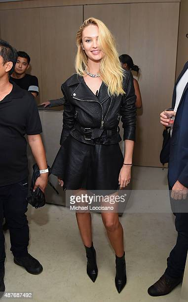 Candice Swanepoel attends the Rihanna Party at The New York Edition on September 10 2015 in New York City