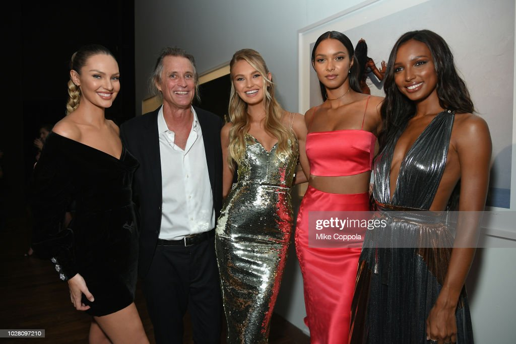 Cindy Crawford And Candice Swanepoel Host 'ANGELS' By Russell James Book Launch And Exhibit - Inside : News Photo