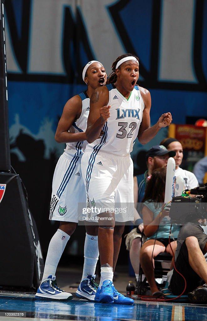 San Antonio Silver Stars v Minnesota Lynx : News Photo