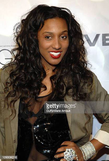Candice Wiggins attends the 2011 NBPA AllStar Gala at JW Marriott at LA Live on February 19 2011 in Los Angeles California