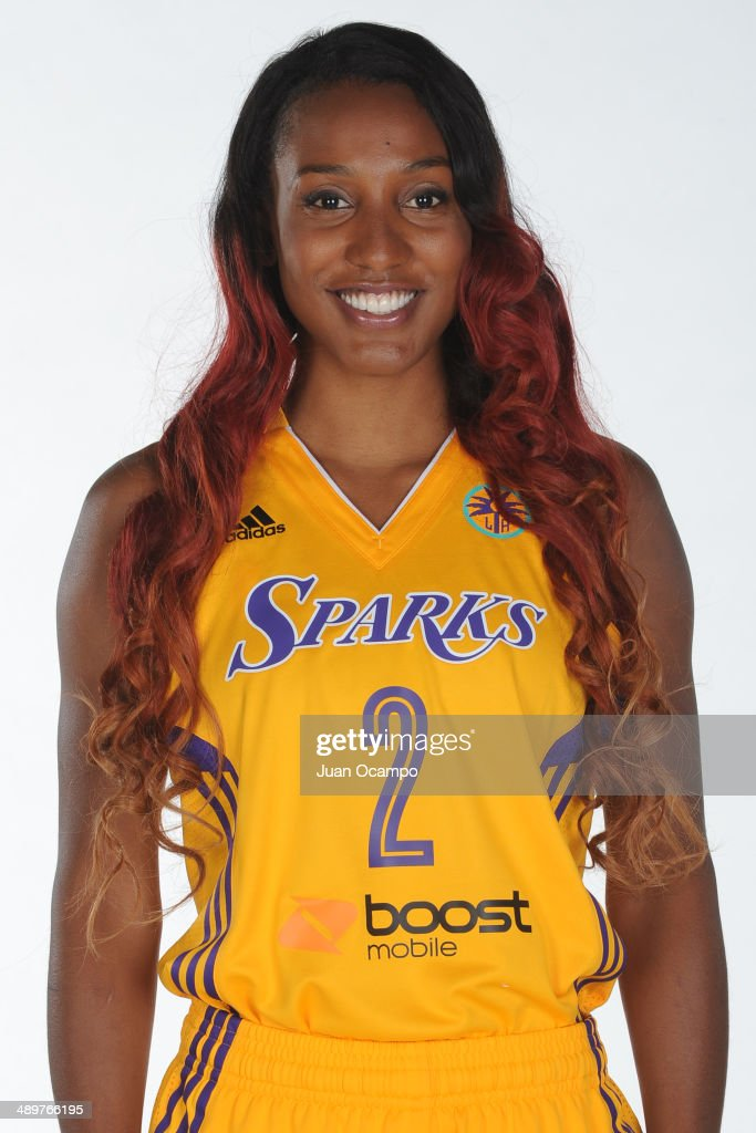 Los Angeles Sparks Media Day 2014 : News Photo
