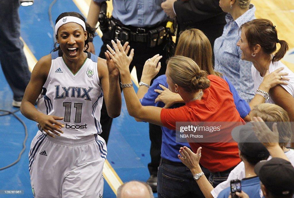 Atlanta Dream v Minnesota Lynx - Game Two : News Photo