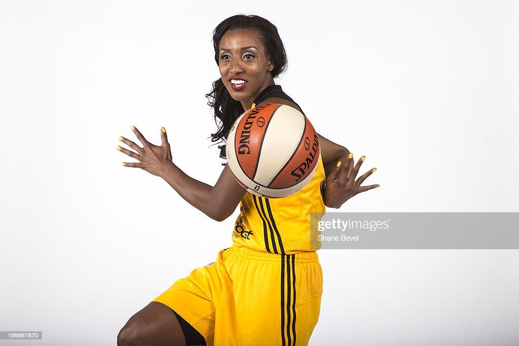 Tulsa Shock WNBA Media Day : News Photo