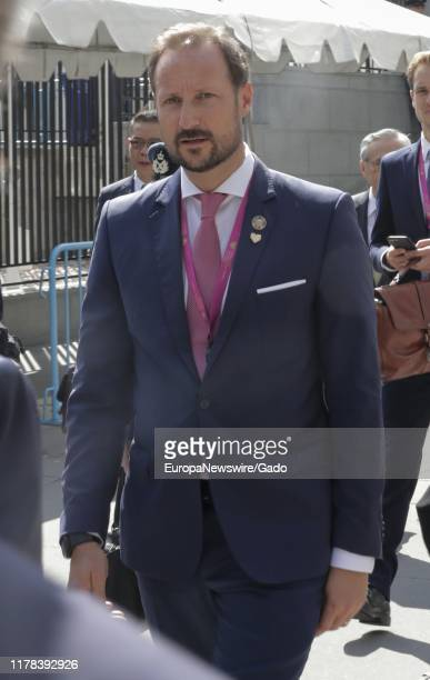 Candid portrait of Haakon Crown Prince of Norway during the 74th session of the General Assembly at the UN Headquarters in New York September 24 2019