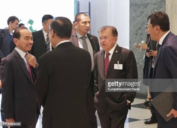 Candid portrait of Vice President of Indonesia Jusuf Kalla during the 74th session of the General Assembly at the UN Headquarters in New York,...