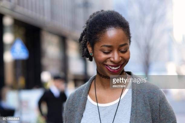 candid portrait of young woman - one young woman only stock pictures, royalty-free photos & images