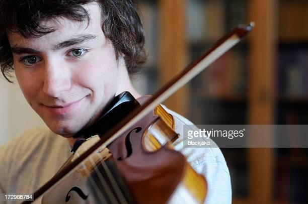 Candid Violinist 2