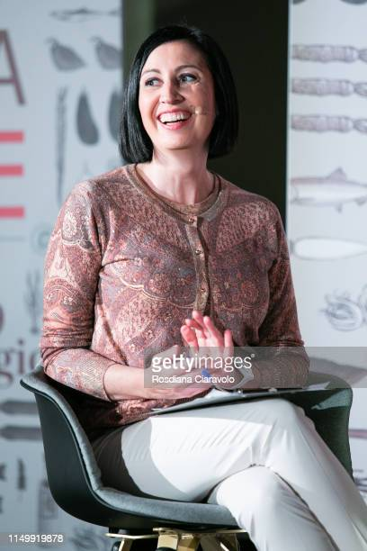 "Candida Marvillo attends the ""Cibo A Regola D'Arte 2019"" at Fabbrica del Vapore on May 17, 2019 in Milan, Italy."