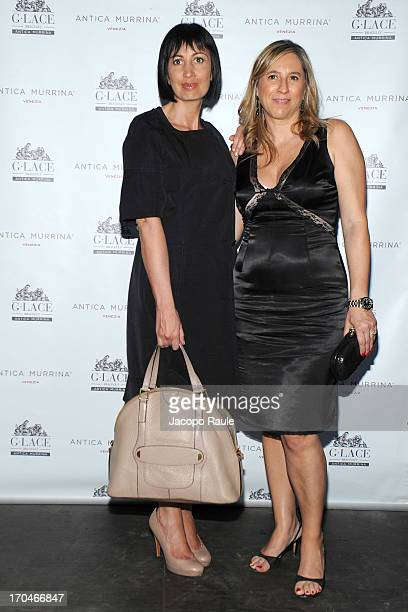 Candida Morvillo and Elena Valtolina attend Antica Murrina Unveils G. Lace Bracelet on June 13, 2013 in Milan, Italy.