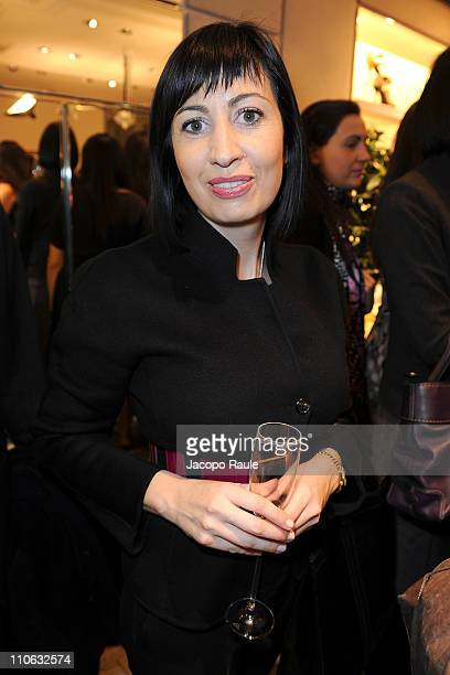 Candida Morvillo attends Presentation of Fatima Bhutto Book At Roger Vivier Store on March 22, 2011 in Milan, Italy.