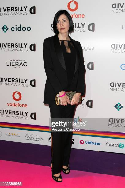 Candida Morvillo attends the Diversity Media Awards 2019 at Alcatraz on May 28, 2019 in Milan, Italy.