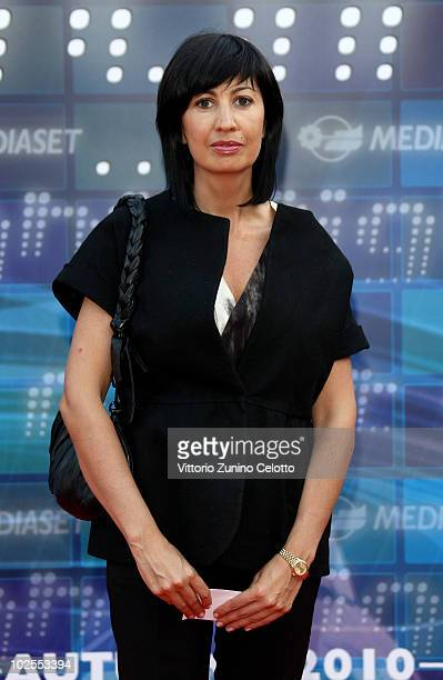 Candida Morvillo attends the Mediaset Night TV Programming Presentation on June 30, 2010 in Milan, Italy.