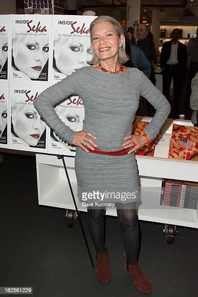 Candida Royale promotes 'Inside Seka' at the Museum of Sex on September 30 2013 in New York City