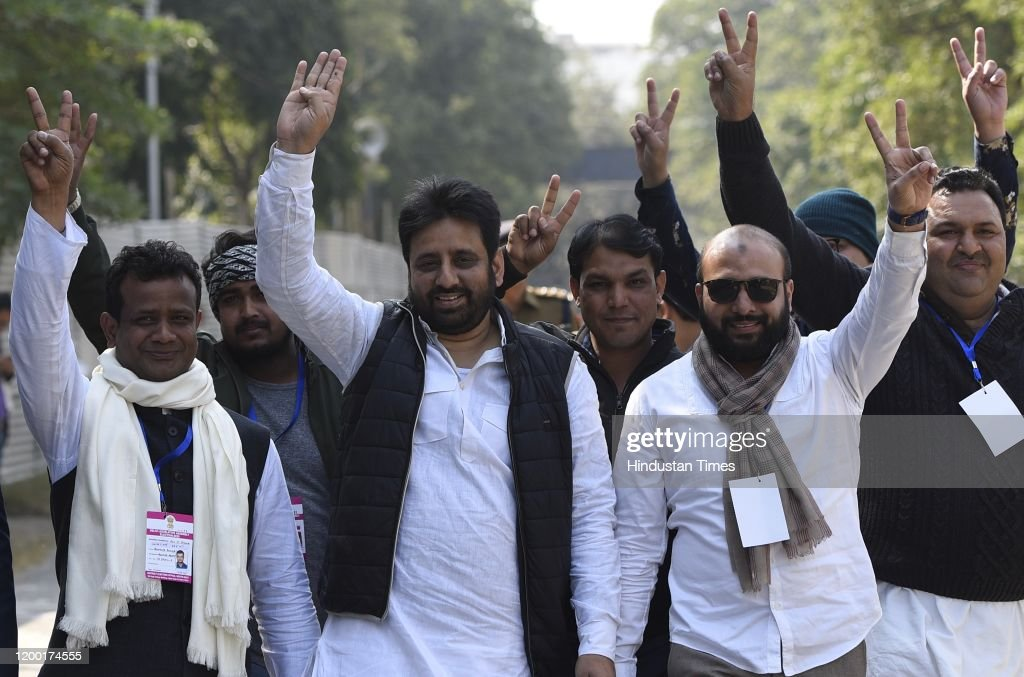 Delhi Assembly Elections Results Declaration : News Photo