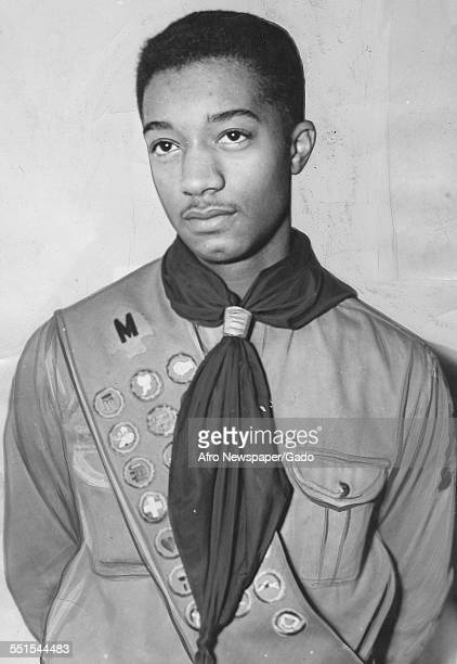 Candidate for New York, James E Churchman Junior, portrait as a young man, New York City, New York, February 18, 1940.